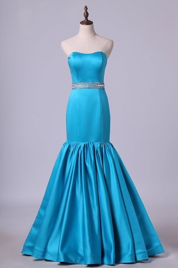Sweetheart Mermaid Prom Dresses With P4LR7FML