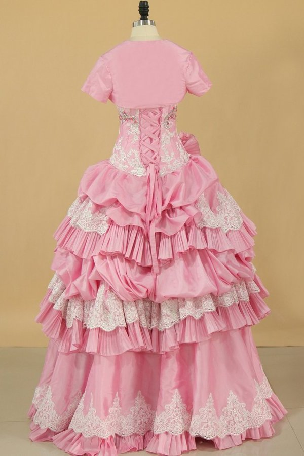 Sweetheart Ball Gown Quinceanera Dresses Pick PXR2C1FS