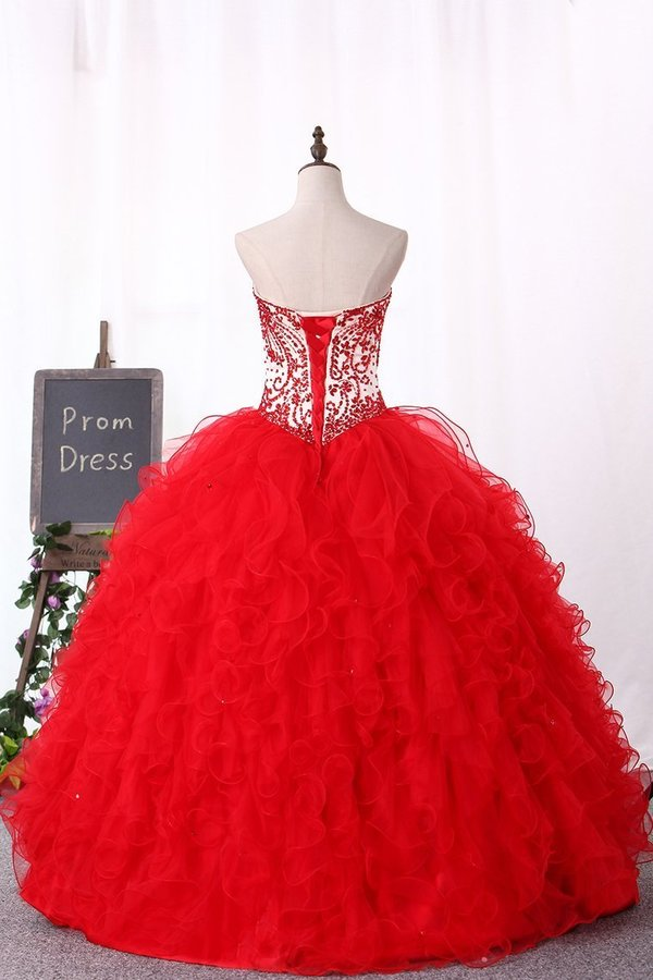 2020 Sweetheart Ball Gown Quinceanera Dresses Floor PHFFDM6G