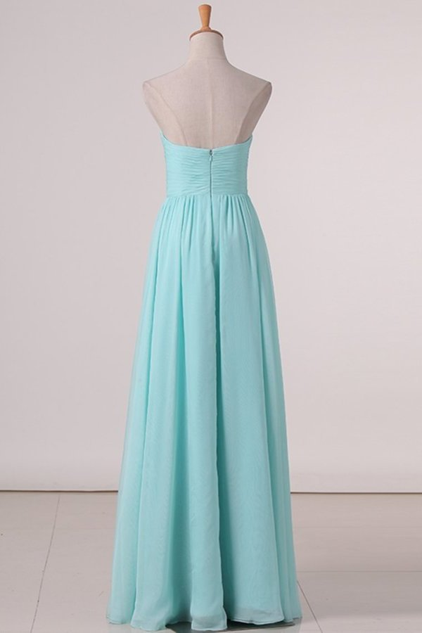 A Line Sweetheart A Line Bridesmaid Dresses With Ruffles PZ2R98ZX