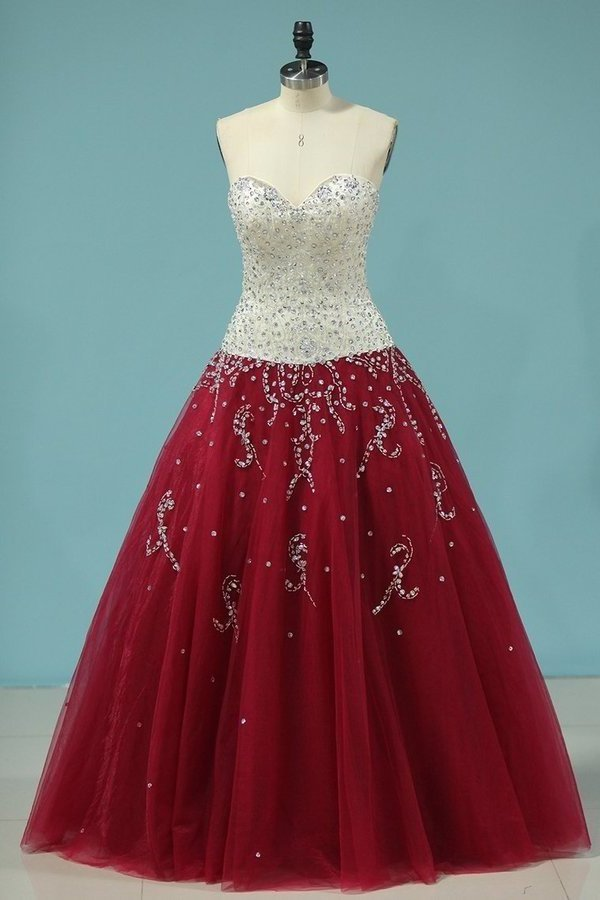 2020 Bicolor Sweetheart Quinceanera Dresses Ball Gown Floor-Length P3C574L8