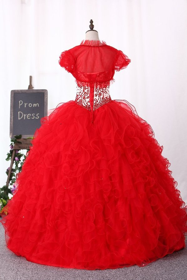 Sweetheart Ball Gown Quinceanera Dresses Floor PHFFDM6G