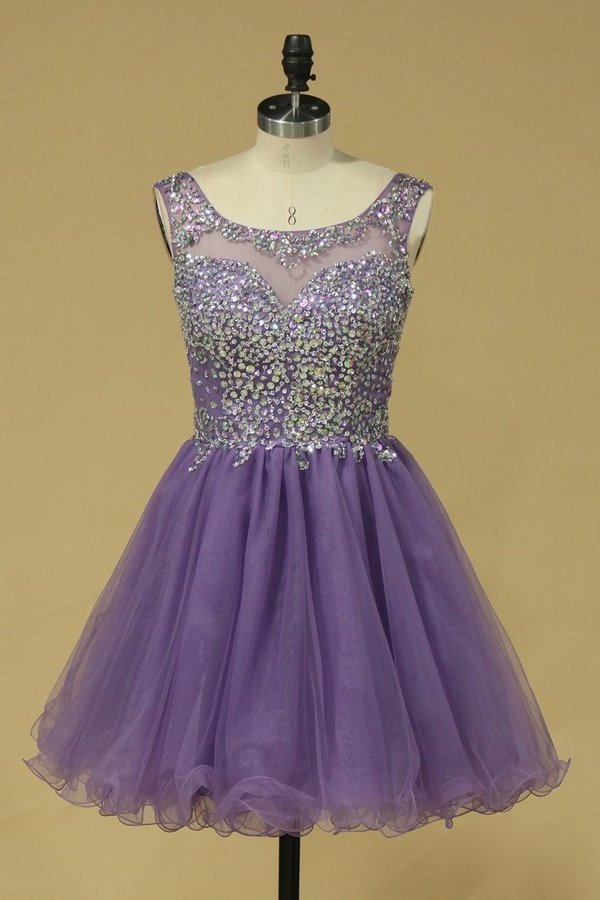 2020 Short/Mini Homecoming Dresses A Line P8EAJA9S