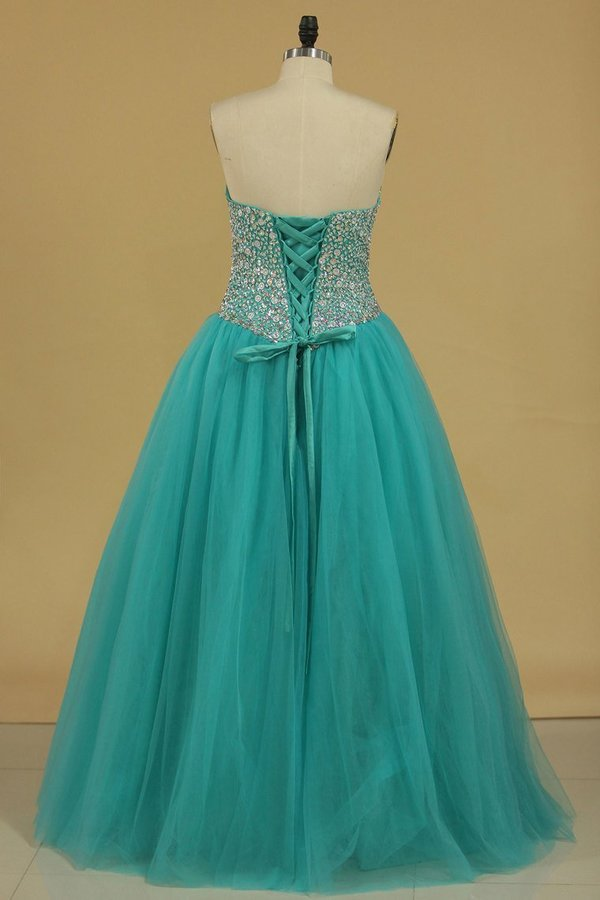 Sweetheart Beaded Bodice Quinceanera Dresses Ball Gown PZMGSGD7