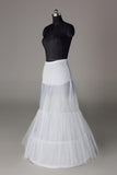 Women Nylon/Tulle Netting Floor Length 2 Tiers Petticoats