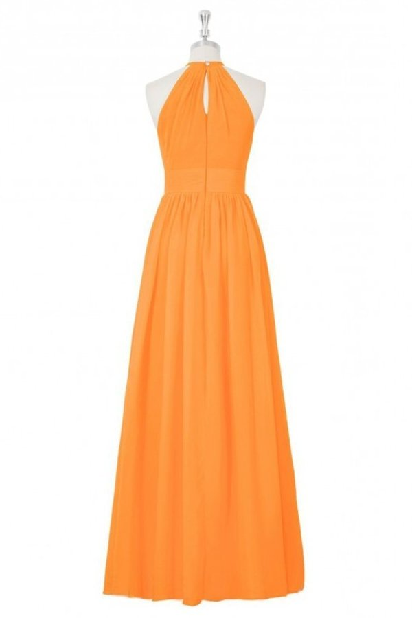 Chiffon Bridesmaid Dresses Scoop With Ruffles PGE4325Y
