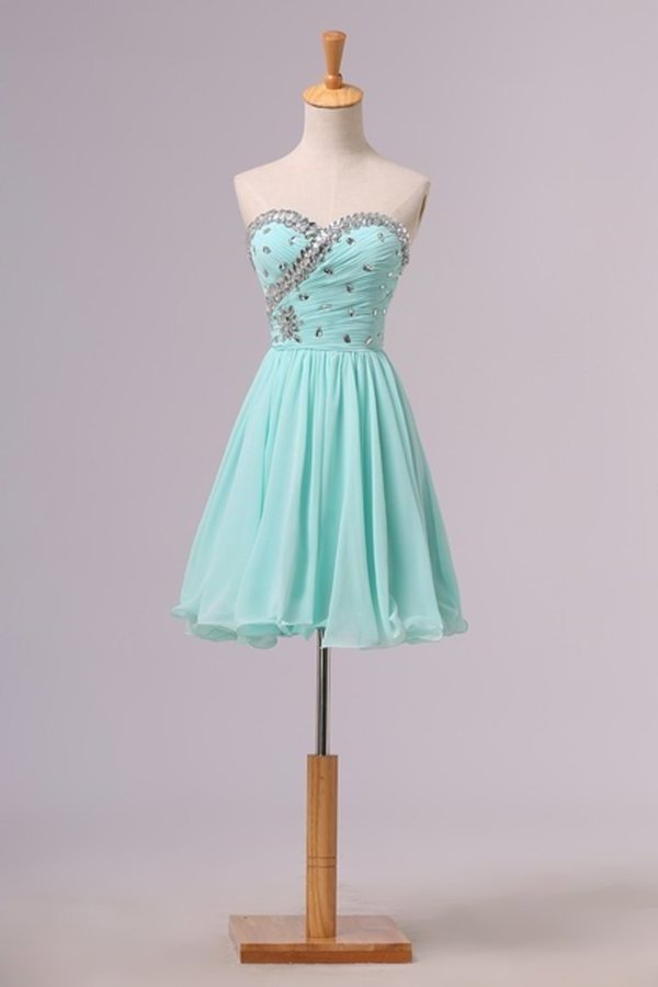 Homecoming Dresses A Line Short/Mini P5T4PAMR
