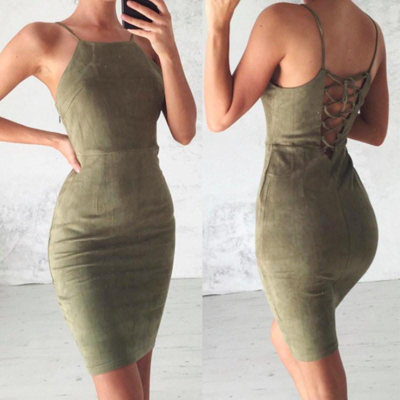 Sexy Mermaid Dark Green Short Prom Dress Spaghetti Straps Lace up Homecoming Dresses