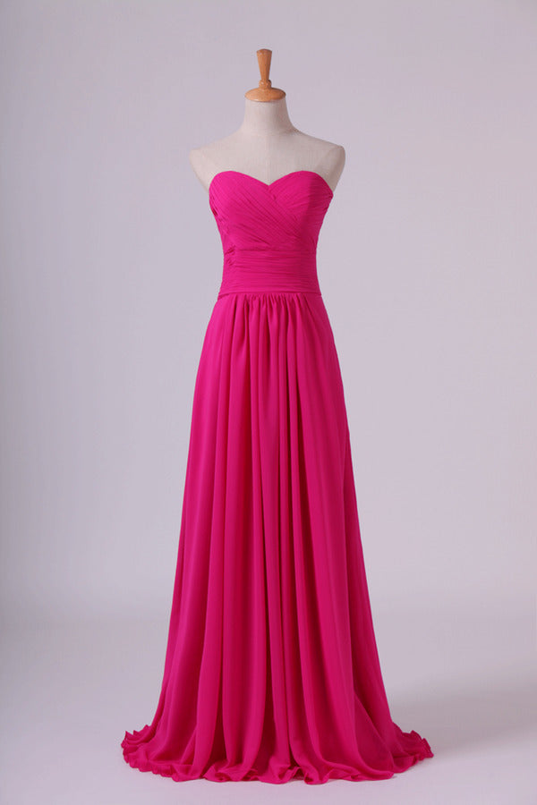 2020 Sweetheart Bridesmaid Dresses A-Line Floor Length PGYQXPKJ