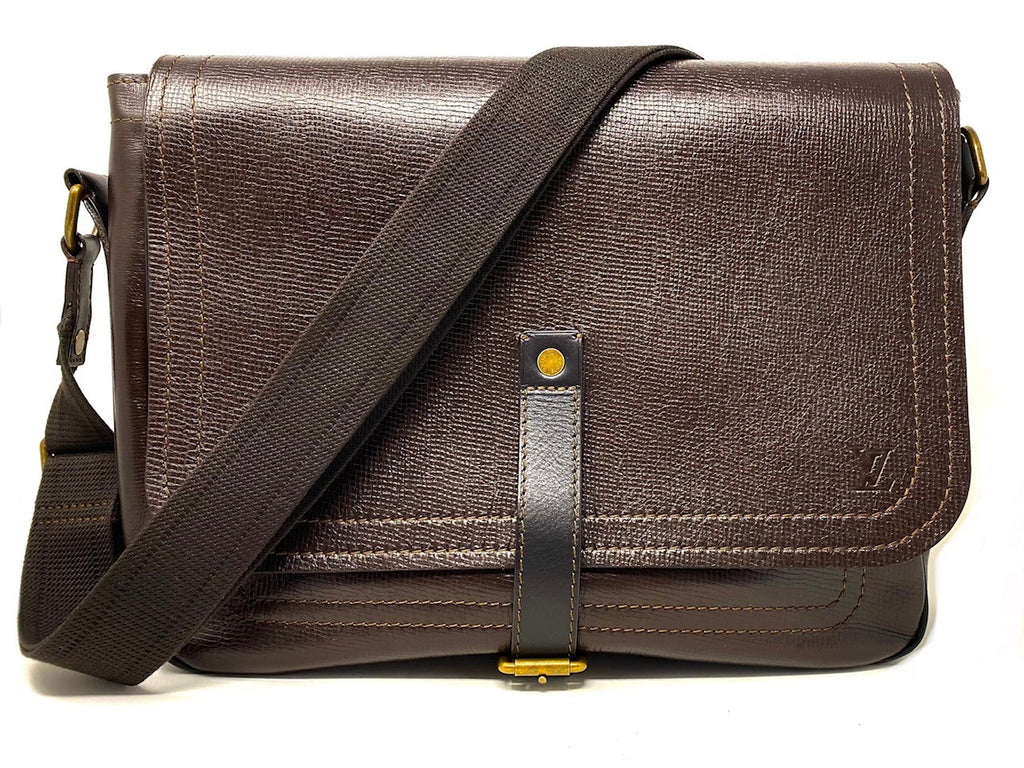 LOUIS VUITTON Utah Omaha Men's Messenger Bag