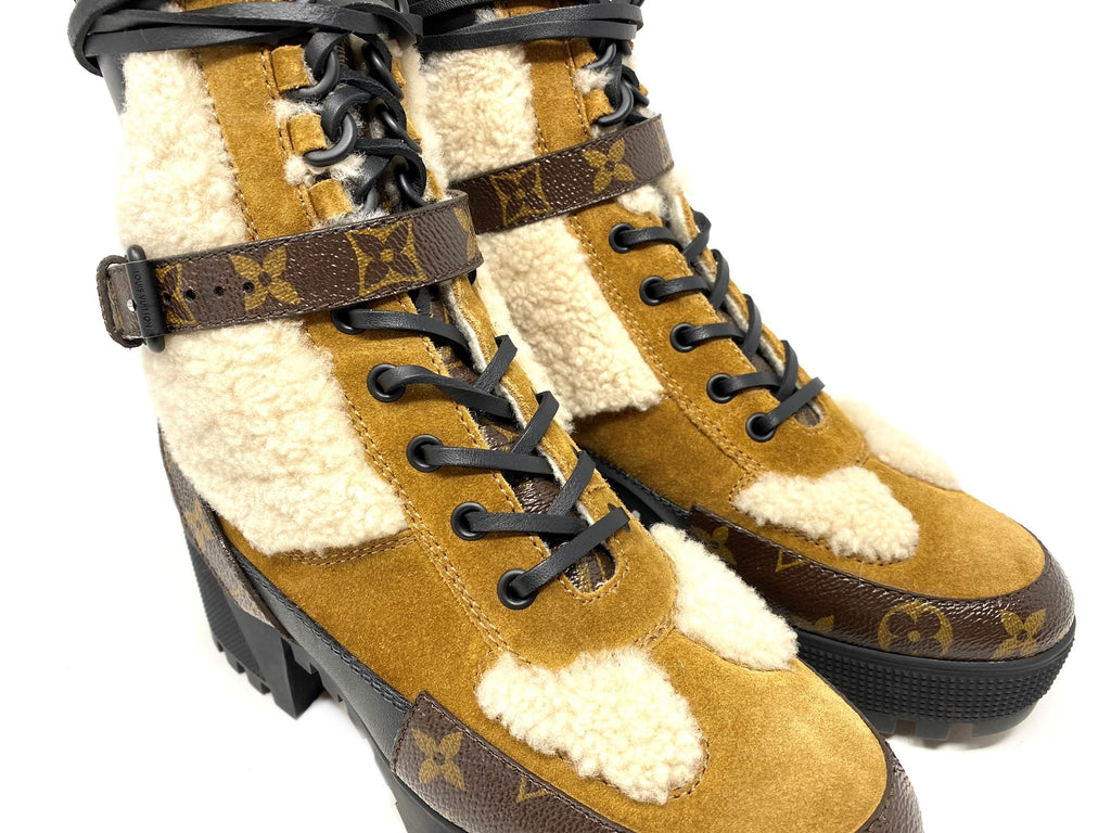 Louis Vuitton Laureate Platform Desert Boot