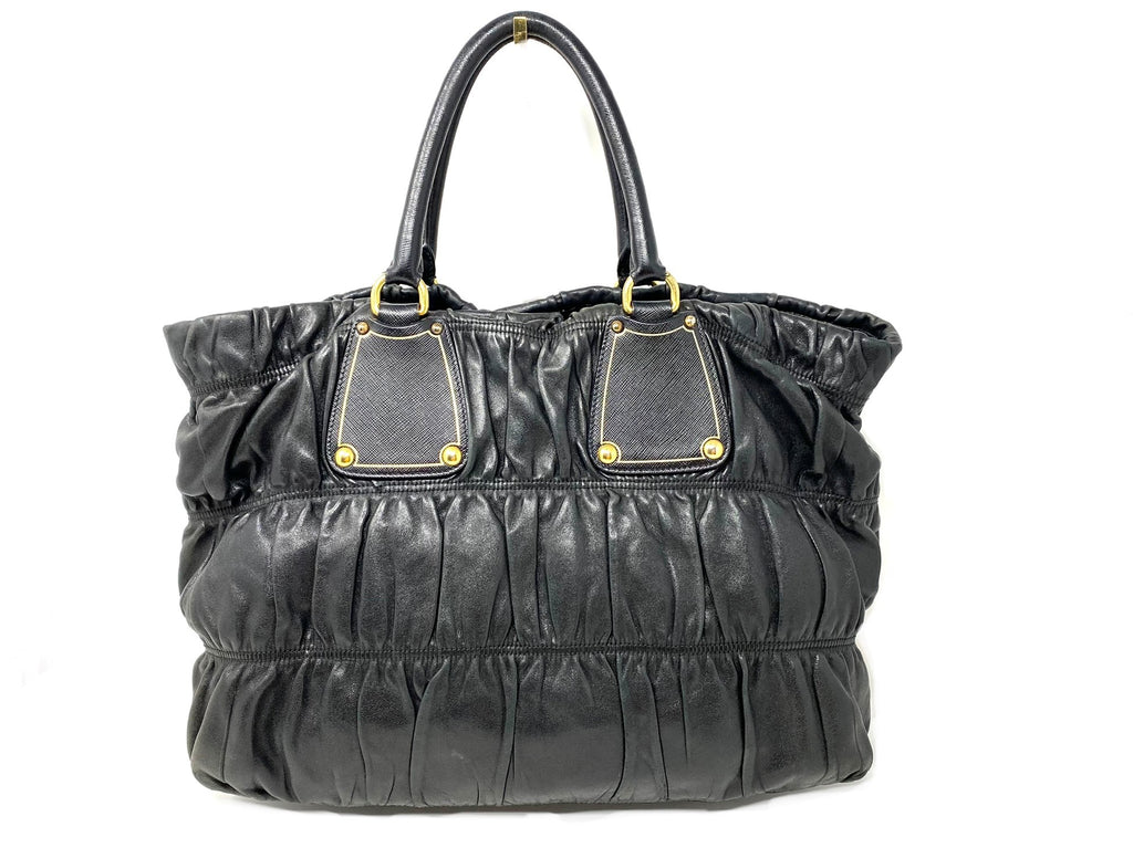 Prada Nappa Leather Gaufre Satchel