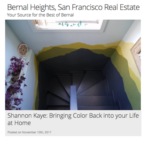 Shannon Kaye talks with Jen Baxter and Bernal Blog about her television career, her creative process at home and why she started her color consulting services for homeowners