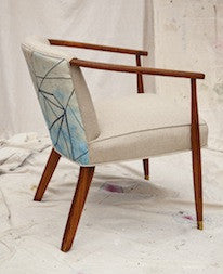 Rough Diamond on Vintage Arm Chair