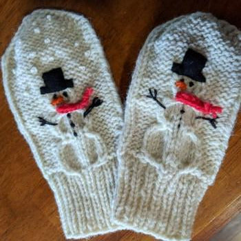 Let it Snow Mitten Kit