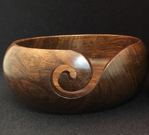 Yarn Bowl - Wood