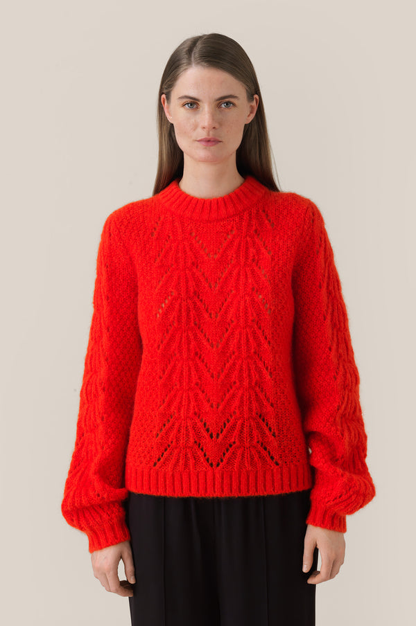 Tali Knit O-neck