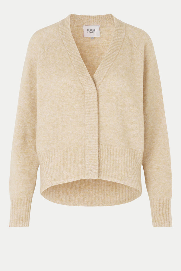 Brook Knit Boxy Cardigan