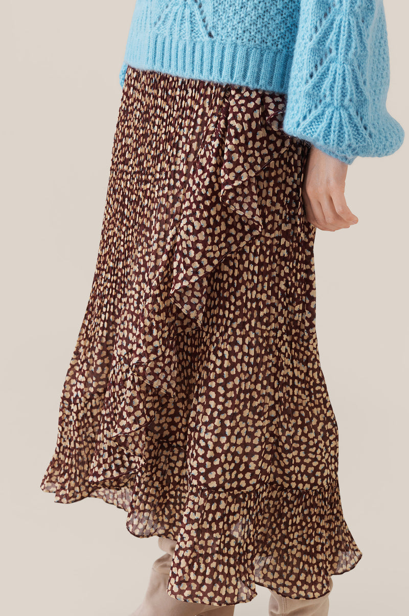 Anita Wrap Maxi Skirt