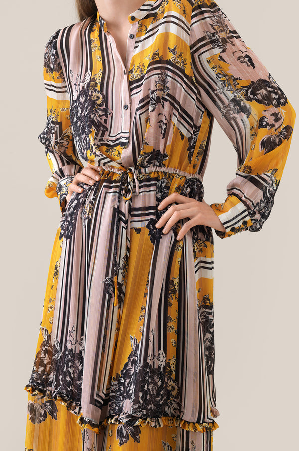 Valley LS Maxi Dress