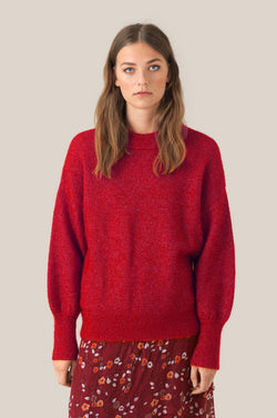 Phoenix Knit Loose O-Neck
