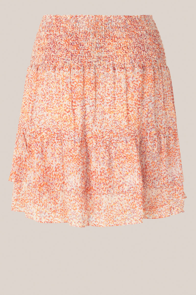 Floral MW Short Skirt