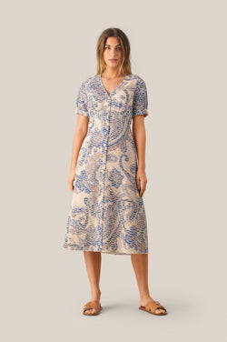 Delina SS Midi Dress