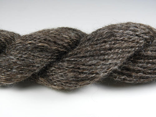 Handspun Gotland/Finn Wool Yarn: Gingerbread