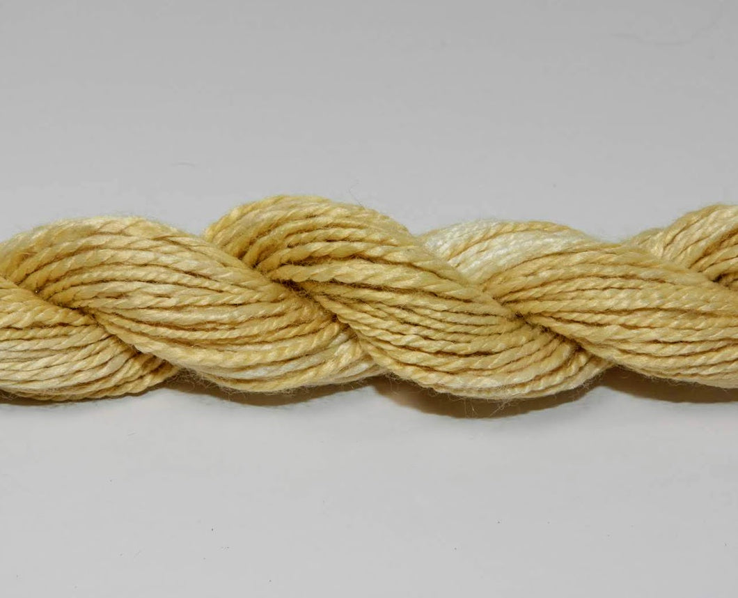 A Rose By Any Other Name Vegan Friendly Yarn: Golden Straw