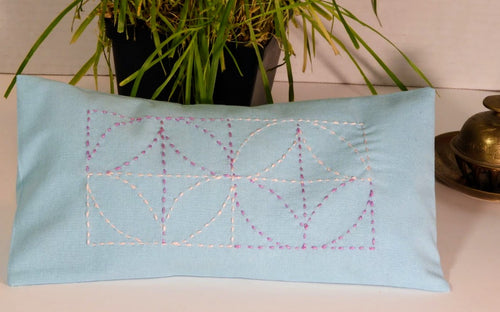 Sashiko Two Meditation Eye Pillow