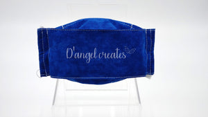 "The ""Cahuenga Pass"" Natural Cotton Face Mask by D Angel Creates.com"