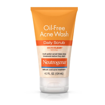 OIL FREE ACNE WASH DAILY SCRUB 6.7 OZ   (200ml)