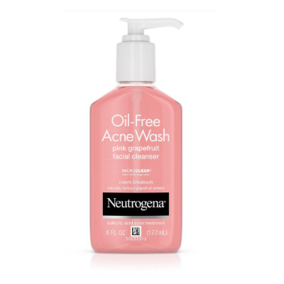 PINK GRAPEFRUIT ACNE WASH 6 OZ