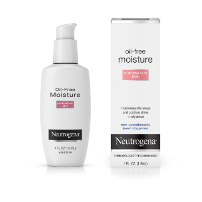 OIL FREE MOISTURIZER COMBINATION SKIN  4 OZ