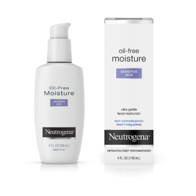 OIL FREE MOISTURIZER SENSITIVE SKIN  4 OZ
