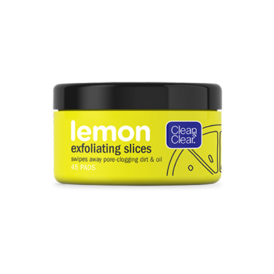 LEMON EXFOLIATING SLICES 45CT