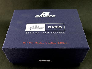 Limited edition Casio wristwatch male Infiniti Red Bull F1 Racing Team EQB-500RBK-1 Solar Bluetooth