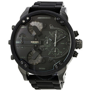 Mr. Daddy 2.0 Chronograph Black Dial Men's Watch