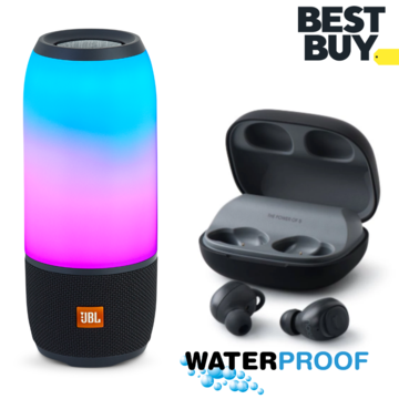 Combo Pulse 3 Wireless Portable Speaker With Noise Shots Truly Wireless Bluetooth Earbuds