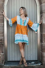 Load image into Gallery viewer, Kaylee Tunic Mini Dress