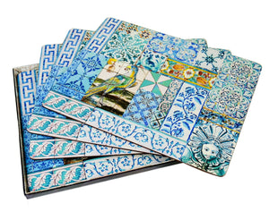 Placemat Set – Portuguese Tile