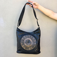 Load image into Gallery viewer, Hand Tooled Boho Mandala Bag