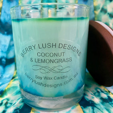 Coconut and Lemongrass Candle