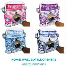 Load image into Gallery viewer, Kombi Wall Bottle Openers