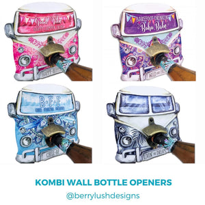 Kombi Wall Bottle Openers