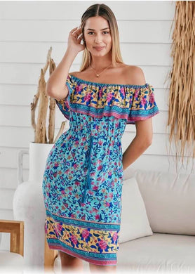 Heaven Off The Shoulder Dress
