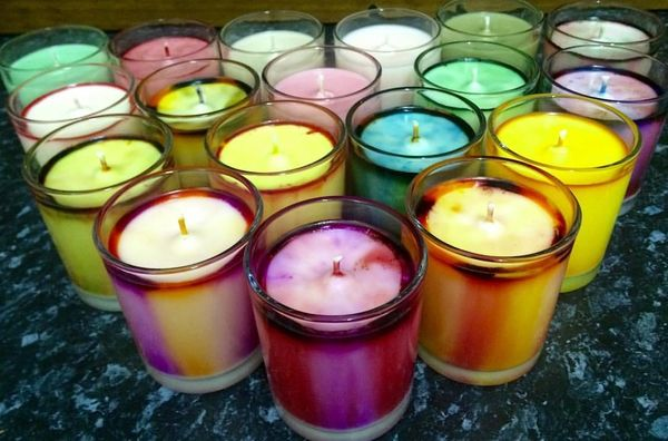 Medium soy wax candles