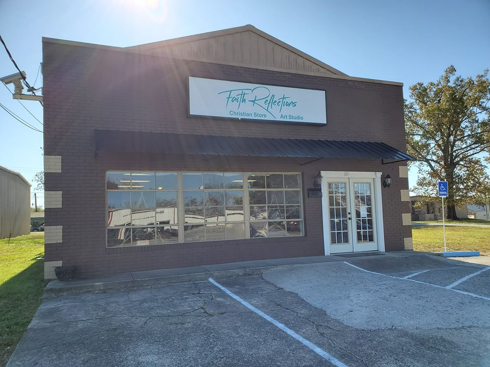 Visit our store and studio at 312 East Coffee St in Tullahoma, Tennessee