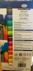 Acrylic Paint Set (14 pc)