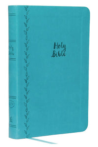 KJV Thinline Bible (Large Print) - Teal Leathersoft